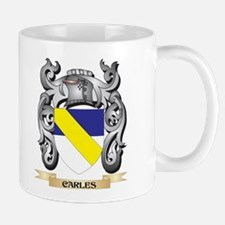 Carles Family Crest - Carles Coat of Arms Mugs