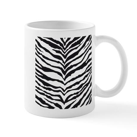 White Tiger Animal Print Mug