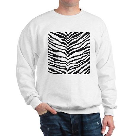 White Tiger Animal Print Sweatshirt