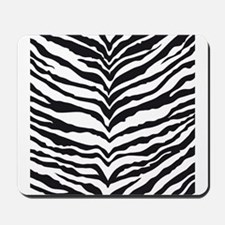 White Tiger Animal Print Mousepad