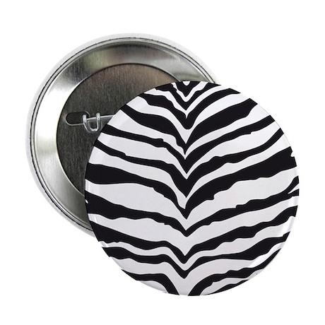 "White Tiger Animal Print 2.25"" Button (10 pack)"