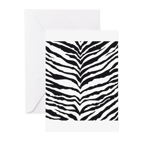 White Tiger Animal Print Greeting Cards (Pk of 20)