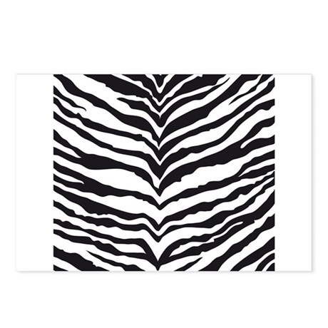 White Tiger Animal Print Postcards (Package of 8)