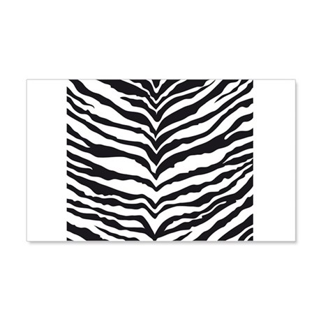 White Tiger Animal Print 20x12 Wall Decal