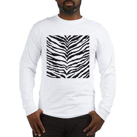 White Tiger Animal Print Long Sleeve T-Shirt