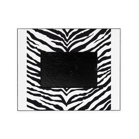 White Tiger Animal Print Picture Frame