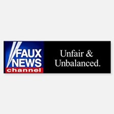 Faux News Channel - bumpersticker