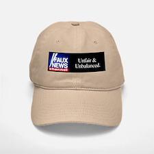 Faux News Channel - Khaki Baseball Baseball Cap