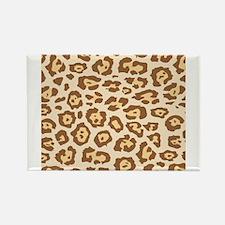 Cheetah Animal Print Rectangle Magnet (10 pack)