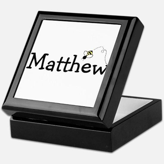 Cool Matthew Keepsake Box