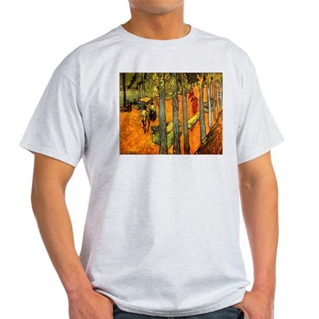 Alyscamps by Vincent Van Gogh Ash Grey T-Shirt