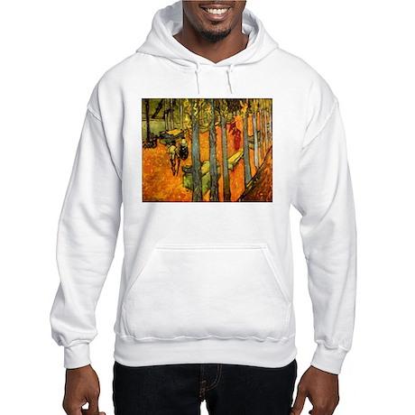 Alyscamps by Vincent Van Gogh Hooded Sweatshirt