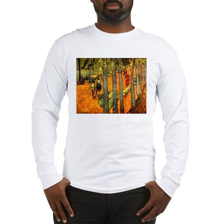 Alyscamps by Vincent Van Gogh Long Sleeve T-Shirt
