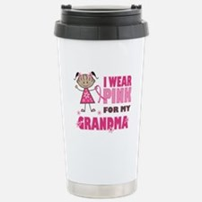 Wear Pink 4 Grandma Travel Mug