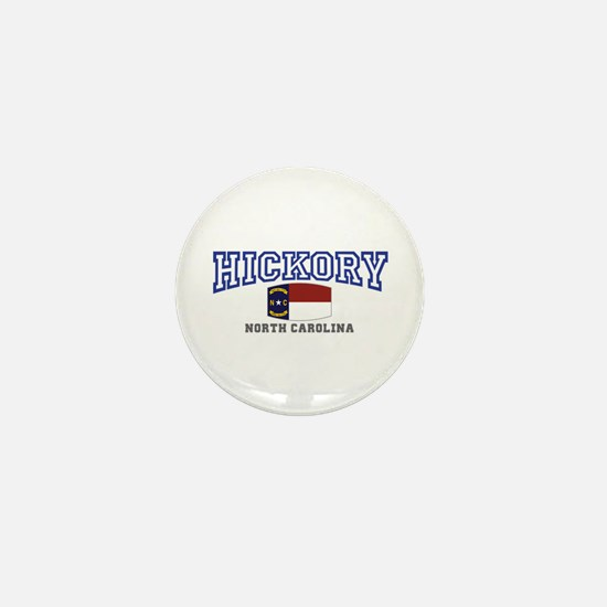 Hickory, North Carolina Mini Button