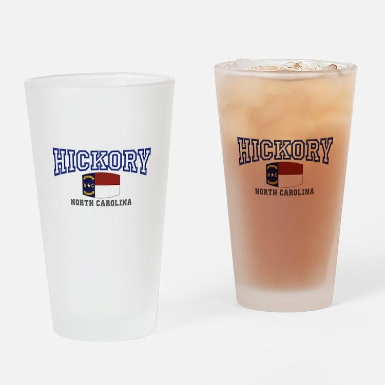 Hickory, North Carolina Drinking Glass
