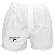 Hickory, North Carolina Boxer Shorts