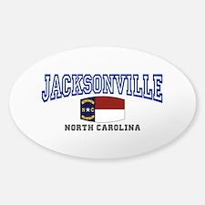 Jacksonville, North Carolina Decal