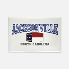 Jacksonville, North Carolina Rectangle Magnet