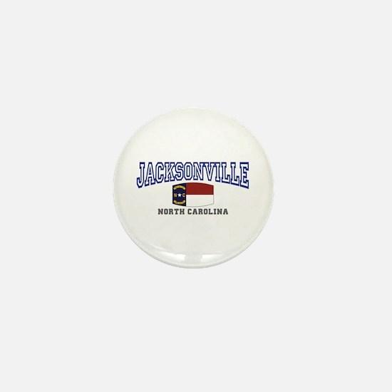 Jacksonville, North Carolina Mini Button