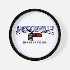 Jacksonville, North Carolina Wall Clock
