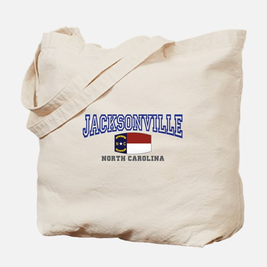 Jacksonville, North Carolina Tote Bag
