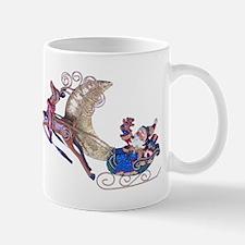 Santa's Sleigh Mug