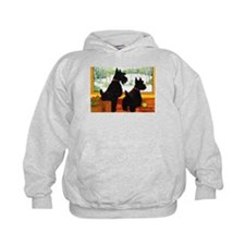 A Scotty Dog Christmas Hoodie