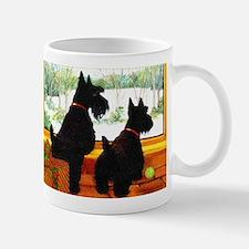 A Scotty Dog Christmas Mug