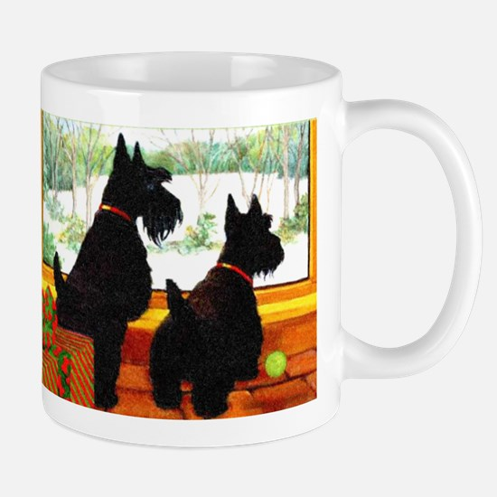 A Scotty Dog Christmas Mug