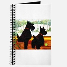 A Scotty Dog Christmas Journal
