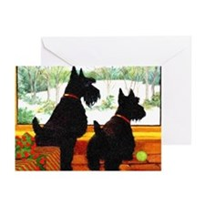 A Scotty Dog Christmas Greeting Cards (Pk of 20)