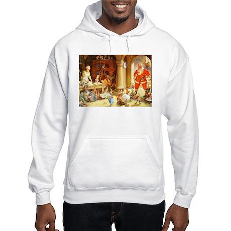 Mrs. Claus & the Elves Bake Chri Hooded Sweatshirt