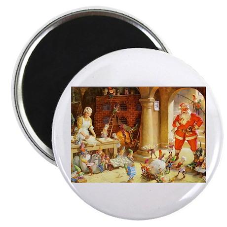 """Mrs. Claus & the Elves Bak 2.25"""" Magnet (100 pack)"""