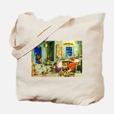 Mrs. Claus and Santa After Christmas Tote Bag