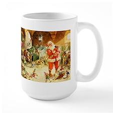 Santa in the North Pole Stables Mug