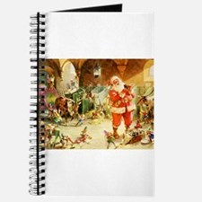 Santa in the North Pole Stables Journal