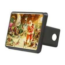 Santa in the North Pole St Hitch Cover
