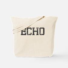 ECHO, Vintage Tote Bag