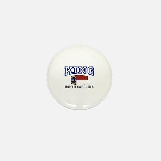 King, North Carolina Mini Button