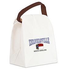 Kernersville, North Carolina Canvas Lunch Bag