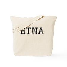 ETNA, Vintage Tote Bag