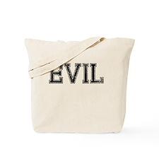 EVIL, Vintage Tote Bag