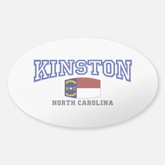 King, North Carolina Sticker (Oval)