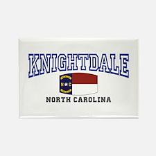 Knightdale, North Carolina Rectangle Magnet