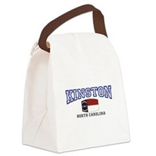 King, North Carolina Canvas Lunch Bag