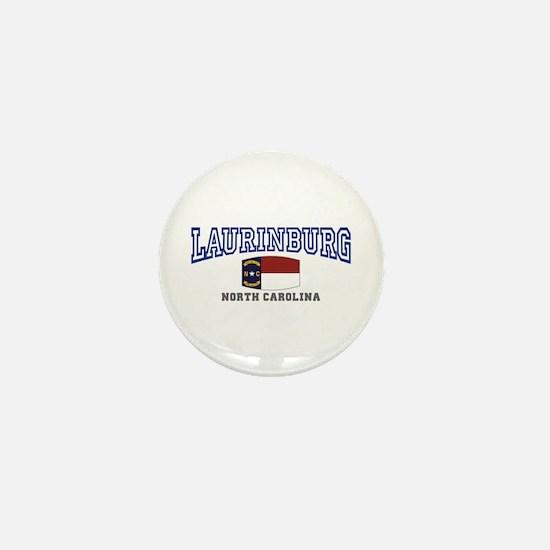 Laurinburg, North Carolina Mini Button