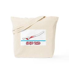Swim Dad (girl) red suit Tote Bag