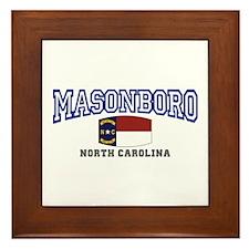 Masonboro, North Carolina Framed Tile