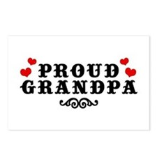 Proud Grandpa Postcards (Package of 8)